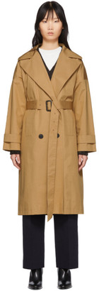 BEIGE The Loom Oversized Trench Coat