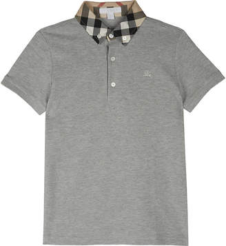 Burberry William cotton polo shirt 4-14 years