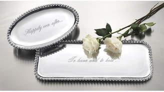 Mariposa String of Pearls Serving Platter