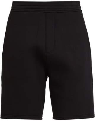 Neil Barrett Tape-print neoprene shorts