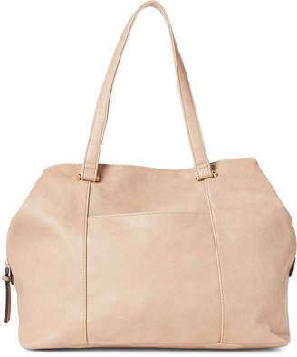 Violet Ray Cognac Carter Pouch Shoulder Bag