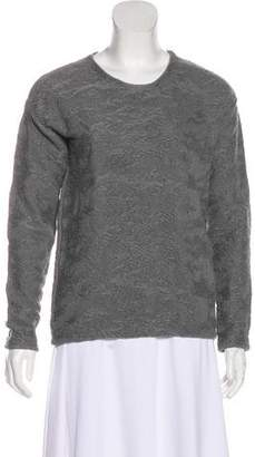 Alexander Wang Textured Crew Neck Sweater