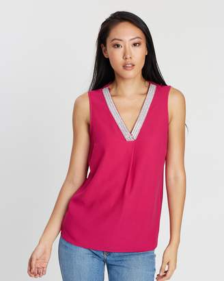 Dorothy Perkins Sequin Shell Top