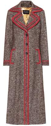 Etro Cotton and wool-blend coat