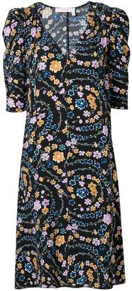 See by Chloe floral print midi dress