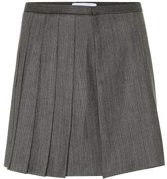 Matthew Adams Dolan Wool-blend miniskirt