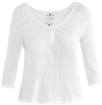 Velvet by Graham & Spencer Scoop-neck T-shirt