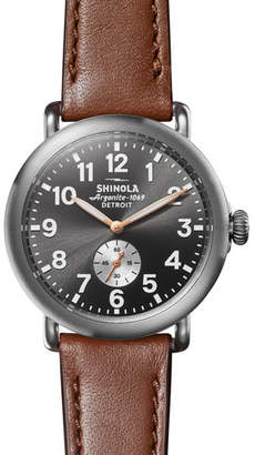 Shinola Men's 41mm Runwell Watch with Titanium Case