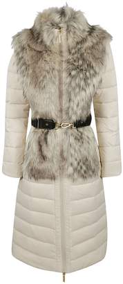Elisabetta Franchi Celyn B. Fur Coat