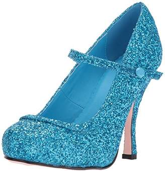 Ellie Shoes Women's 423-Candy Glitter Maryjane Platform Pump