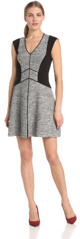Rebecca Taylor Women's Sleeveless Melange Knit Dress