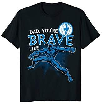 Marvel Panther Brave Dad Father's Day Graphic T-Shirt