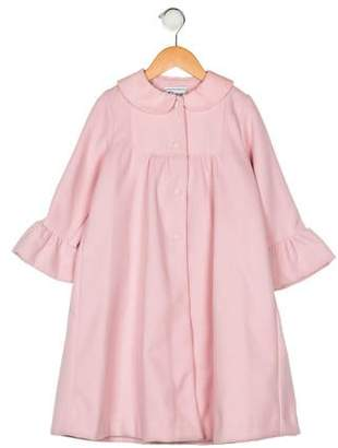 Florence Eiseman Girls' Button-Up Coat