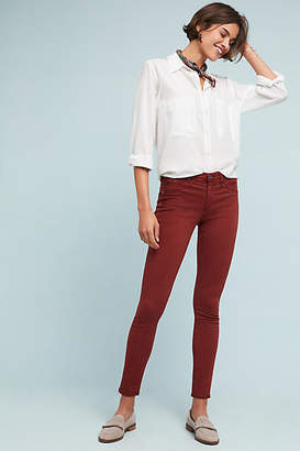 AG Jeans Low-Rise Denim Leggings