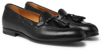 Gucci Loomis Leather Tasselled Loafers - Black
