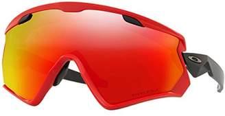 Oakley Men's Wind Jacket 2.0 Non-Polarized Iridium Rectangular Sunglasses