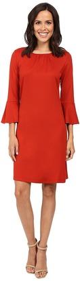 Christin Michaels Dresden Bell Sleeve Dress $84 thestylecure.com