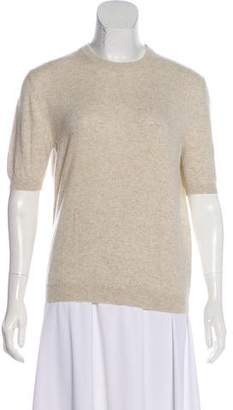 Malo Cashmere Short Sleeve Sweater