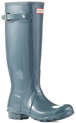 Hunter Original Gloss Rainboots $150 thestylecure.com
