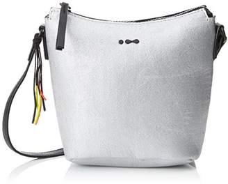 Skunkfunk Women's WBG00741 Shoulder Bag Silver
