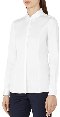 REISS Harper Tailored Shirt $145 thestylecure.com