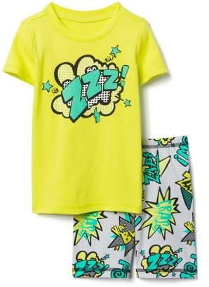 Gymboree Comics 2-Piece Shortie Pajamas