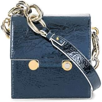 Marni mini square crossbody bag c