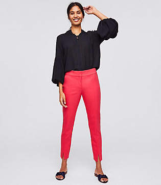 LOFT Tall Skinny Slit Ankle Pants in Marisa Fit