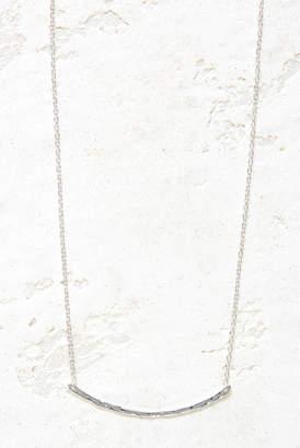 Gorjana Silver Taner Bar Small Necklace Silver