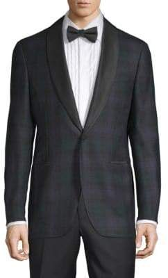 Plaid Wool Jacket