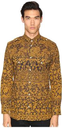 Vivienne Westwood Printed Mussola Military Shirt Men's Clothing