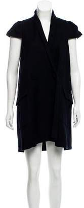 Roland Mouret Double-Breasted Knee-Length Dress