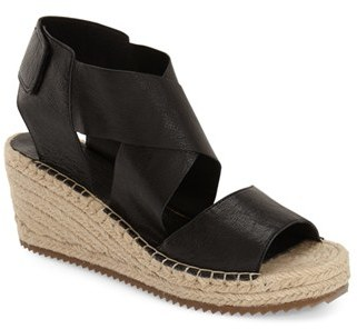 Women's Eileen Fisher 'Willow' Espadrille Wedge Sandal $198 thestylecure.com