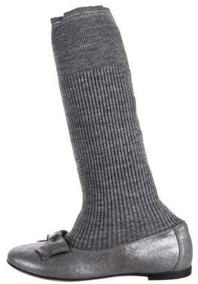 MonnaLisa Sock Ballet Booties