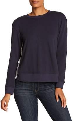 Joie Devra Eyelet Lace Detailed Sweater