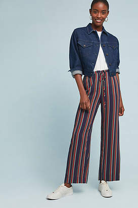 Velvet by Graham & Spencer Sinclair Striped Wide-Leg Pants