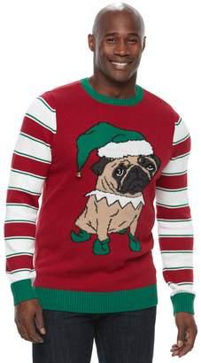 Method Products Big & Tall Pug Ugly Christmas Sweater
