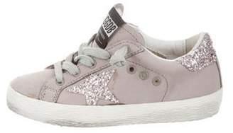 Golden Goose Toddler Girls' Superstar Sneakers w/ Tags