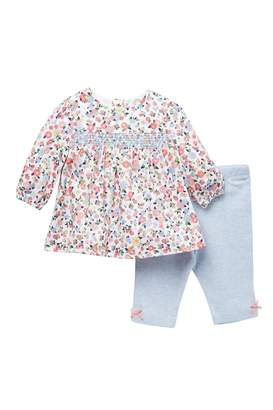 Little Me Garden Posy Tunic & Pants Set (Baby Girls)