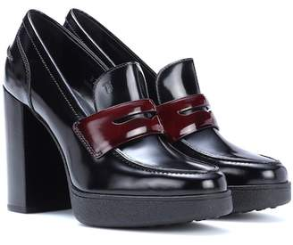Tod's Polished leather pumps