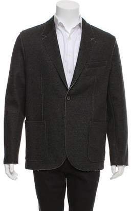Lanvin Deconstructed Two-Button Blazer w/ Tags