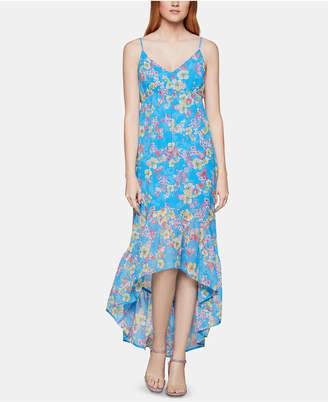 BCBGeneration Bcbgmaxazria Floral-Print High-Low Dress