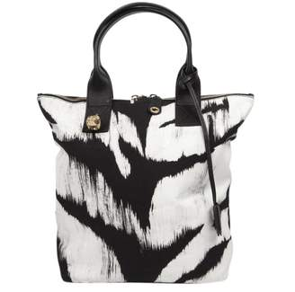 Alexander McQueen Canvas Shopping Bag