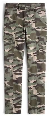 J.Crew Camo Straight Leg Cargo Pants