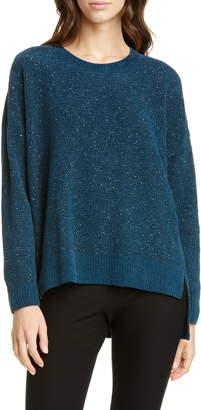 Eileen Fisher Crewneck Organic Cotton Sweater