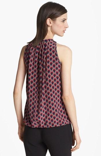 Trina Turk 'Bella' Print Silk Blouse