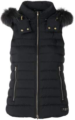 Tatras fur collar padded gillet