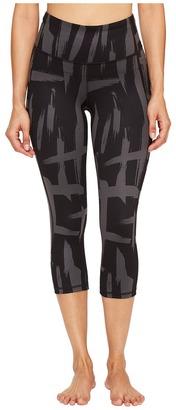 Lucy - Perfect Core Capri Leggings Women's Capri $98 thestylecure.com