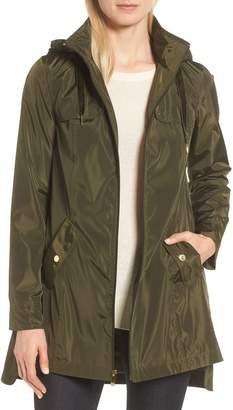 Via Spiga Velvet Pull Packable Raincoat