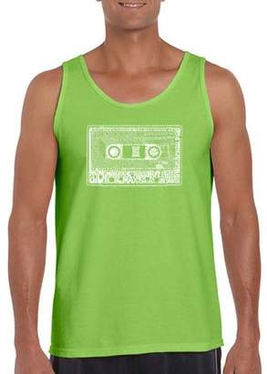 Pop Culture Los Angeles Pop Art Big Men's Tank Top - The 80's